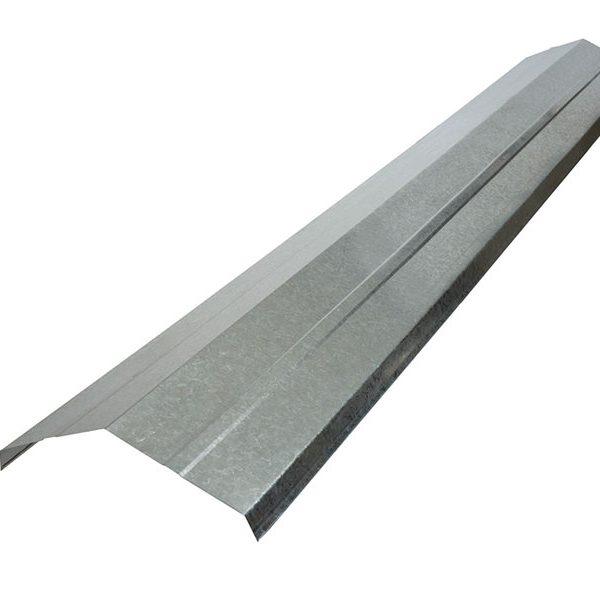 Barraca BYM - Caballetes metal galvanizado Hojalatería